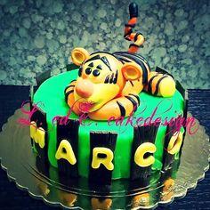 Cake tigger