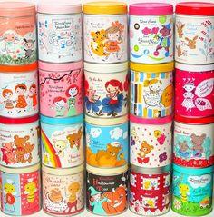 Karel Capek tea tins