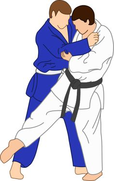 vector illustration of Ashi-Guruma Judo throwing technique.....One system I have studied.
