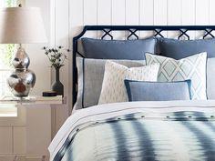MONTAUK BEDDING SET, KRAVET Fabrics, $2,264.00 (http://frenchcountryfurnitureusa.com/montauk-bedding-set-kravet/)