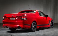 Imagine this Holden Maloo rebadged as the new Chevy El Camino...a slight 30 year break in the bloodline, but still a ute...I'd buy one!!