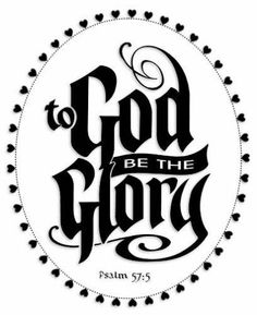 To God Be The Glory Decal Religious Decal Christian Decals Vinyl Sticker for Car Window Die Cut Scripture Wall Art, Bible Verses, Cajas Silhouette Cameo, Wall Decals, Vinyl Decals, Vinyl Art, Christian Wall Decor, Custom Vinyl, Faith In God