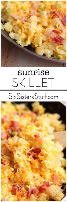 Sunrise Skillet on Six Sisters Stuff