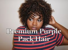 Outre Premium Purple Pack Hair - Jerry Curl