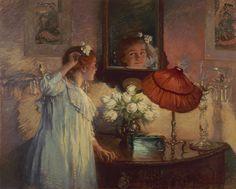 Albert Chevalier Tayler - The Mirror through the looking glass alice?