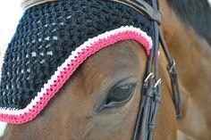 Custom Crocheted Horse Fly Bonnet  You Pick by horsesandhome, $70.00