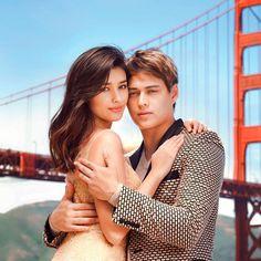 So perfect 😍 Enrique Gil, Liza Soberano, Filipino Models, Korean Men Hairstyle, Marian Rivera, Filipina Actress, Sam Smith, Couple Shoot, Amor