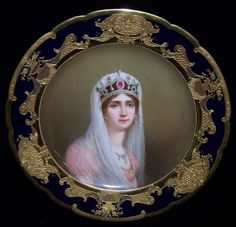 royal vienna collector s plate with an image of empress josephine