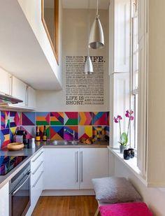 Soluciones para cocinas pequeñas - Decoración de Interiores y Exteriores - EstiloyDeco