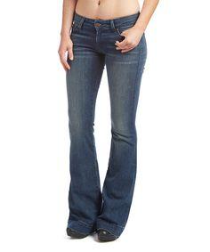 Look what I found on #zulily! David Kahn Electric Avenue Brenda Flare Jeans by David Kahn #zulilyfinds