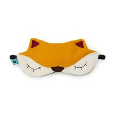 Look what I found at UncommonGoods: felt fox sleeping mask... for $32 #uncommongoods