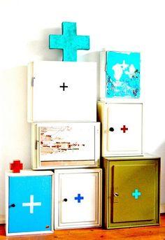 +   cabinets