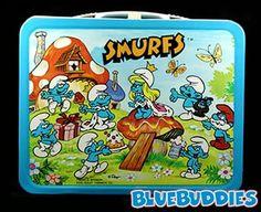 Smurfs lunchbox
