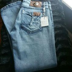 Selling this Versace Women Jeans in my Poshmark closet! My username is: mrslbroaden. #shopmycloset #poshmark #fashion #shopping #style #forsale #Versace #Denim