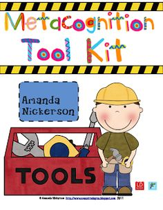 Metacognition Tool Kit: A Labor of Love!One Extra Degree