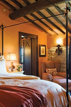 Castello Di Casole - Tuscany, Italy - All 41 spacious suites have been designed…