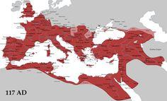 Sotto Traiano, grazie alla conquiste in Oriente e nella Dacia (odierna Romania) l'impero raggiunse la sua massima estensione storica (117 d.C.). In questo caso fu totalmente stravolta la politica estera voluta da Augusto. Furono annessi molti di quegli stati-cuscinetto che Ottaviano aveva consigliato di mantenere per garantire stabilità e pace all'interno del'impero come il regno dei Nabatei (famosa è la loro capitale Petra). Le conquiste di Traiano furono tuttavia effimere e non si…