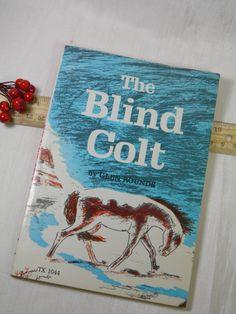 1960 The Blind Colt  Cowboy Sketched by GreenGablesLane on Etsy