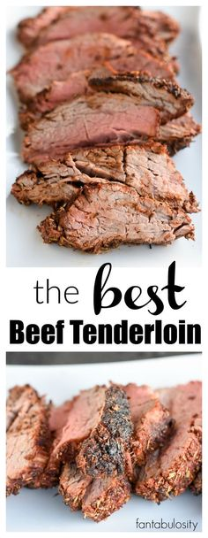 Holy Cow!!! This is the BEST Beef Tenderloin Recipe and meat rub recipe around!