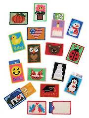 Holiday Plastic Canvas Patterns - Gift Card Cases Plastic Canvas Pattern