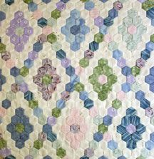 This might be a good idea also. Print patterns on fabric and then cut. Love the setting design.