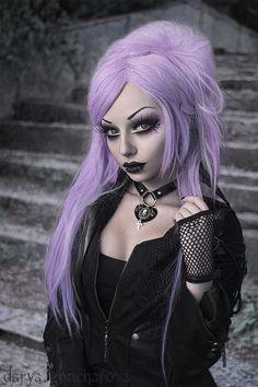 dark gothic beauty