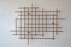 Large Square Metal Art Sculpture Hand Welded Modern Steel Decor Decoration 3D Dimensional Large Wall Art in Bronze by inspiring4u2 on Etsy https://www.etsy.com/listing/118667670/large-square-metal-art-sculpture-hand