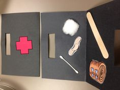 Community helpers on pinterest community helpers for Doctor crafts for toddlers