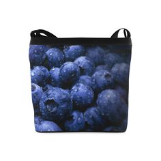 Blueberries Crossbody Bag. FREE Shipping. #artsadd #bags #fruits