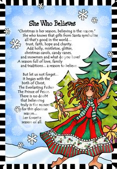 She Who Believes – Gifty Art – Suzy Toronto: Gifts for Women Suzy, Inspirational Words Of Wisdom, Santa Gifts, Sweet Nothings, Christmas Carol, Woman Quotes, Word Art, Best Quotes, Toronto
