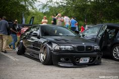BMW M3 e46...minus the ugly ass camber they have going on..