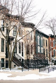 Lincoln Park Chicago town homes