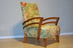 We're loving this Art Deco bentwood upholstered chair with double-arm detail #forsale on #Preloved