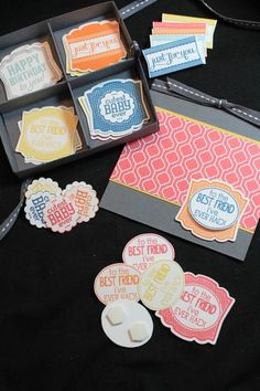 Design your own cards gift box - and FREE tutorial! 2013 Stampin' Up! Artisan…