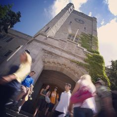 Johnston Hall tower - an icon of UofG! Green Lawn, School Stuff, High School, University, Tower, Architecture, Building, Travel, Arquitetura