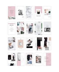 Instagram Stories Pack by Design Love Shop on @creativemarket Instagram Design, Instagram Feed, Instagram Tips, Ad Design, Layout Design, Branding Design, Graphic Design, Social Media Template, Social Media Design