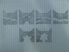 The 6 clans. Drawn by Jordan Burke.