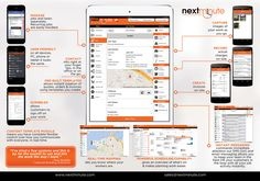 Create a product brochure for NextMinute App - powerful job management software by Jessie Raymundo