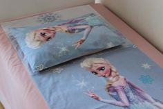 Elsa Cotton Pillow Case Pink Bedding Frozen Pillow by BellaTurka
