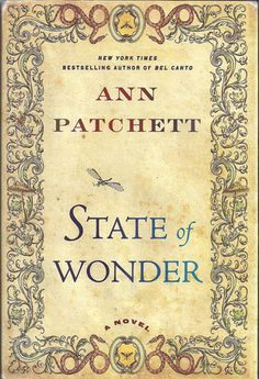 State of Wonder by Ann Patchett.  It started out a little slowly but once our main character arrives in the Brazilian rain forest, this reader appreciates the vivid description.