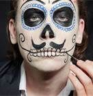 dia de los muertos makeup tutorial - for travis