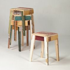 Shabby stools