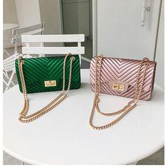f30547d5f Barato Design de alta classe mini pequenas mulheres sacos cadeia feminina  saco de geléia de couro