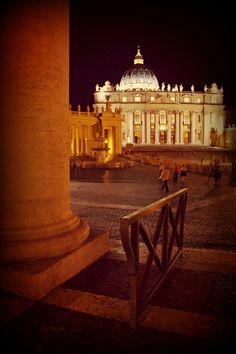 Roma - Piazza San Pietro, by Luca Parravano