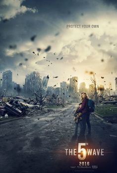 Directed by J Blakeson. With Chloë Grace Moretz, Liev Schreiber, Maika Monroe, Nick Robinson. Four waves of increasingly deadly attacks have left most of Earth decimated. Cassie is on the run, desperately trying to save her younger brother. The 5th Wave Trailer, The 5th Wave Movie, The 5th Wave 2016, The 5th Wave Series, The Fifth Wave, Sci Fi Movies, Horror Movies, Movies To Watch, Nick Robinson