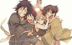 Madara, Izuna, Tobirama, Hashirama, this is cute Madara Uchiha, Naruto Uzumaki, Naruhina, Anime Naruto, Boruto, Naruto Funny, Naruto Art, Gaara, Kakashi