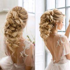 """159 Likes, 7 Comments - Casamento Bonito e Criativo (@casamentobonitoecriativo) on Instagram: """"#Penteado incrível para o #casamento. #bride #noiva #penteadosdefesta #penteados #penteadonoiva…"""""""