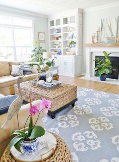 50+ Coastal Living Room Ideas Beach Themes Color Palettes_17