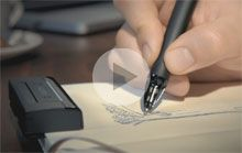 Inkling by WACOM. awesome! digitizing your drawings almost instantly. I feel like I need this pretty bad.