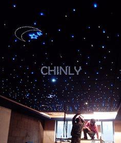 Diy optic fiber light kit led light engine with optical fiber ceiling lights mozeypictures Images